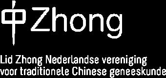 Lid Zhong Nederlandse vereniging voor traditionele Chinese geneeskunde